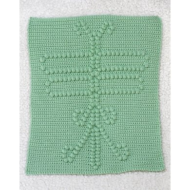 dragonfly blanket block crochet pattern by the baby crow