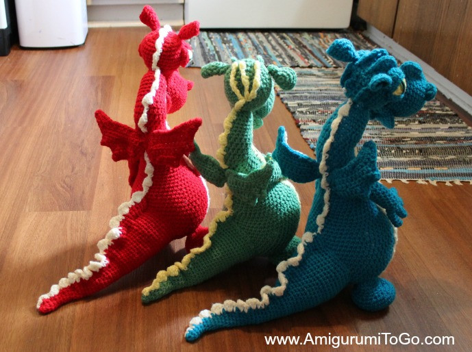 New Dragons In My Kitchen Free Pattern with Video Series Crochet Dragon Pattern Of Brilliant 50 Pictures Crochet Dragon Pattern