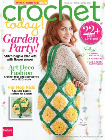 New Earning My Cape Meet My Sponsor Crochet today Magazine Crochet now Magazine Of Wonderful 46 Images Crochet now Magazine