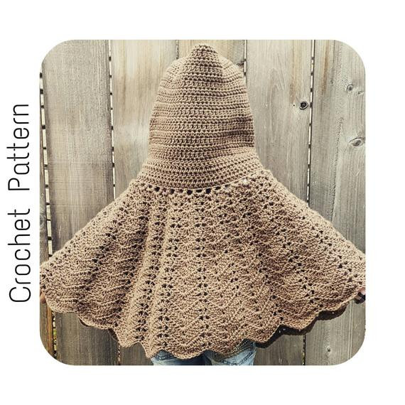 New Easy Crochet Pattern Hooded Cape Red Riding Hood Cape Pattern Of Charming 43 Pictures Red Riding Hood Cape Pattern