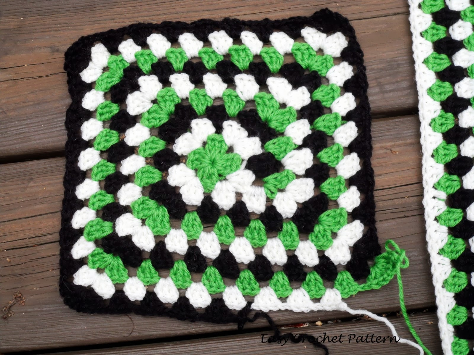 New Easy Crochet Pattern Never Ending Granny Square Afghan Easy Granny Square Pattern Of Amazing 41 Pictures Easy Granny Square Pattern