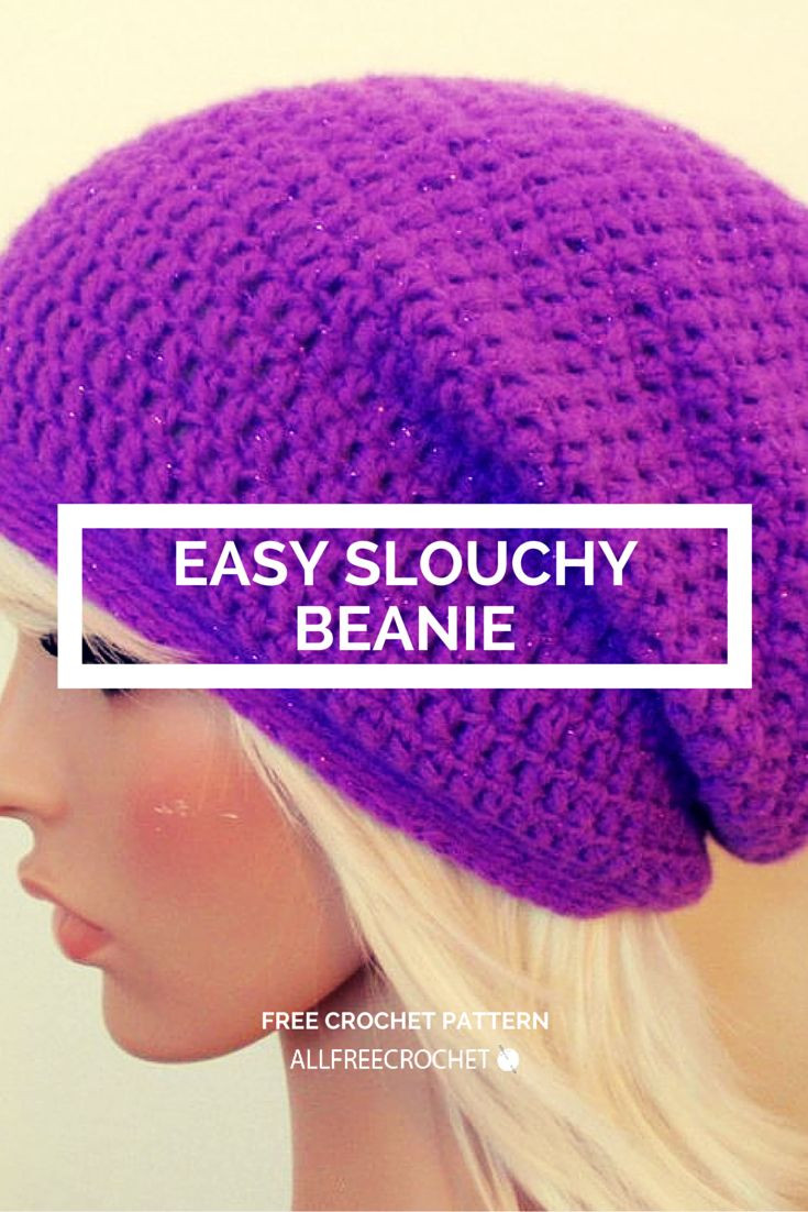New Easy Crochet Slouchy Beanie Simple Beanie Crochet Pattern Of Innovative 50 Ideas Simple Beanie Crochet Pattern