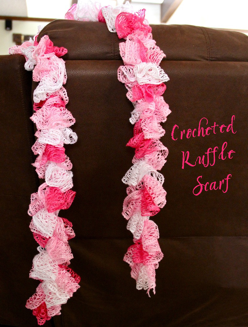 New Easy Crocheted Ruffle Scarf A Cowboy S Wife Crochet Ruffle Scarf Of Lovely 41 Models Crochet Ruffle Scarf