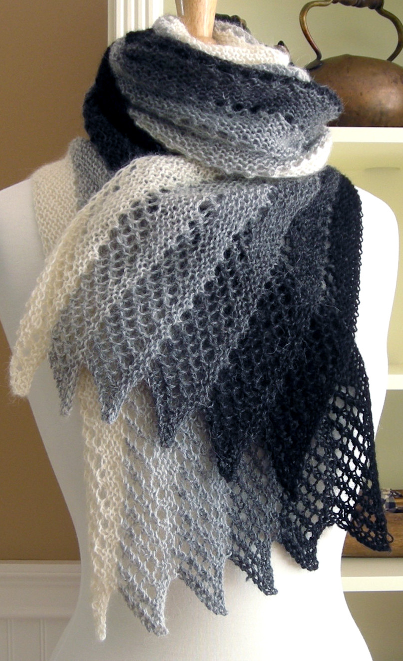 New Easy Scarf Knitting Patterns Knitted Shawl Wrap Of Superb 49 Images Knitted Shawl Wrap