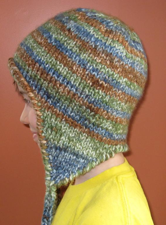 New Easy Striped Earflap Hat by Cchant Craftsy Earflap Hat Knitting Pattern Of Elegant Mens Crochet Hat Pattern with Ear Flaps Dancox for Earflap Hat Knitting Pattern