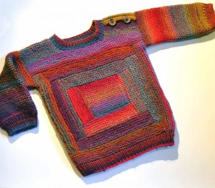 Easy Sweater Knitting Patterns For Baby Aztec Sweater Dress
