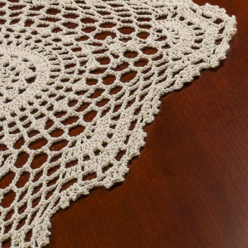 New Ecru Crocheted Doily Table Runner Crochet and Lace Crochet Table Runner Of Amazing 46 Images Crochet Table Runner
