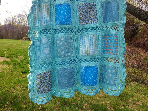 New Fabric Crochet Quilt is the Project You Ve Been Looking for Crochet and Fabric Quilt Of Top 45 Models Crochet and Fabric Quilt