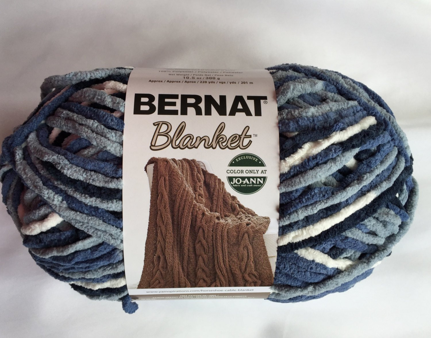 New Faded Blues Bernat Blanket Yarn 220yds 10 5 Oz Skein Bernat Chunky Blanket Yarn Of Fresh 50 Ideas Bernat Chunky Blanket Yarn
