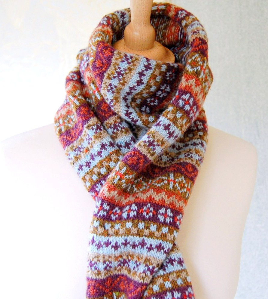 New Fair isle Scarf Reserved Listing for Jacky Fair isle Scarf Of New 40 Pics Fair isle Scarf