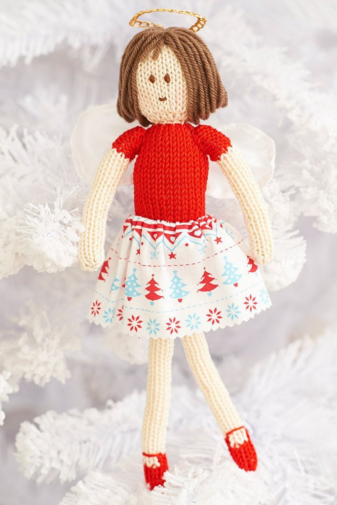New Fairy Christmas Tree Decoration Knitting Pattern – the Knit Tree Skirt Pattern Of Delightful 49 Images Knit Tree Skirt Pattern