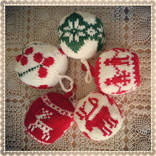 New Family Crafts and Recipes Knitted Christmas ornaments Knitted Christmas ornaments Of Incredible 50 Models Knitted Christmas ornaments