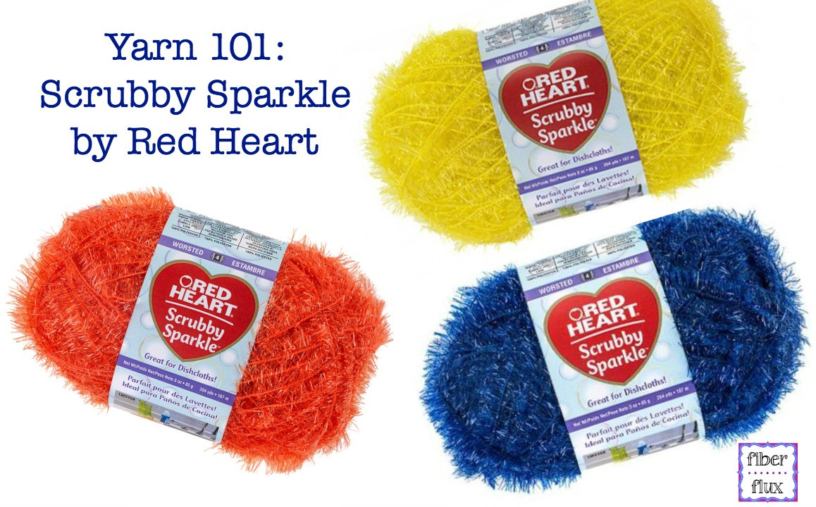 New Fiber Flux Yarn 101 Scrubby Sparkle by Red Heart Red Heart Scrubby Sparkle Patterns Of Marvelous 43 Pictures Red Heart Scrubby Sparkle Patterns