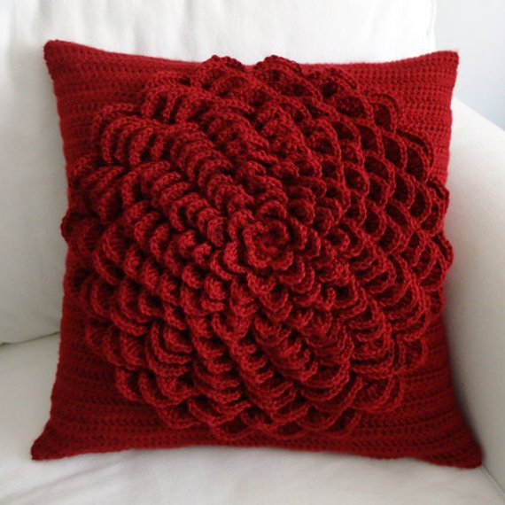 New Flower Pillow Cover Pdf Crochet Pattern Instant Download Crochet Pillow Covers Of Incredible 47 Pics Crochet Pillow Covers