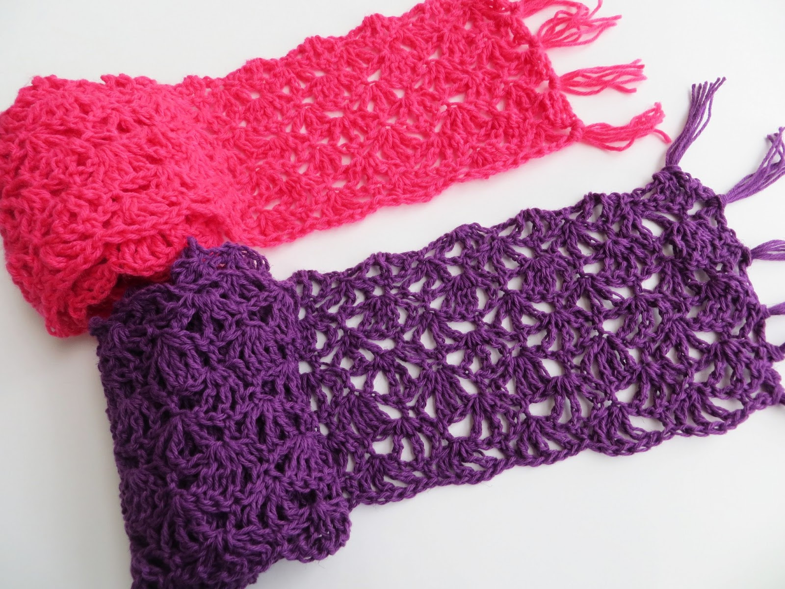 For the Love of Crochet Along Alana Lacy Scarf Free