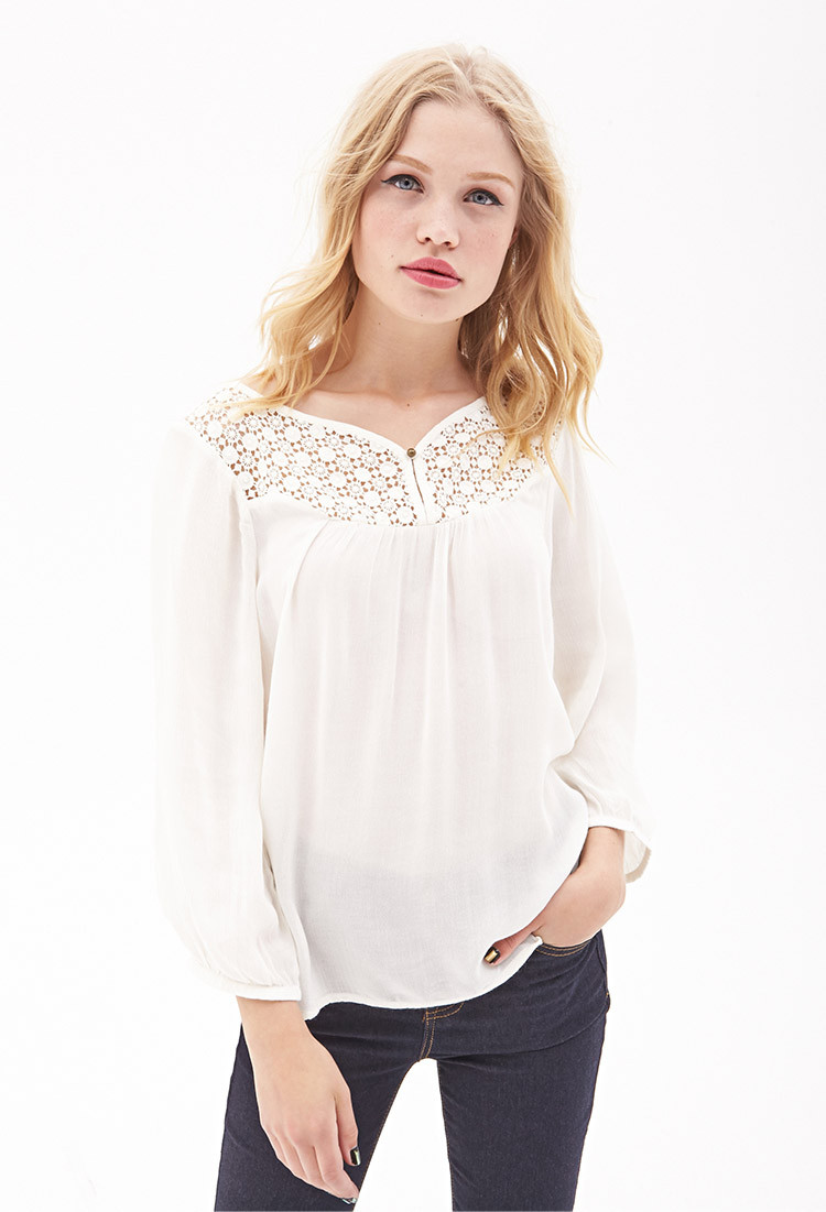 New forever 21 Crochet Gauze top You Ve Been Added to the Crochet tops forever 21 Of Amazing 46 Pics Crochet tops forever 21