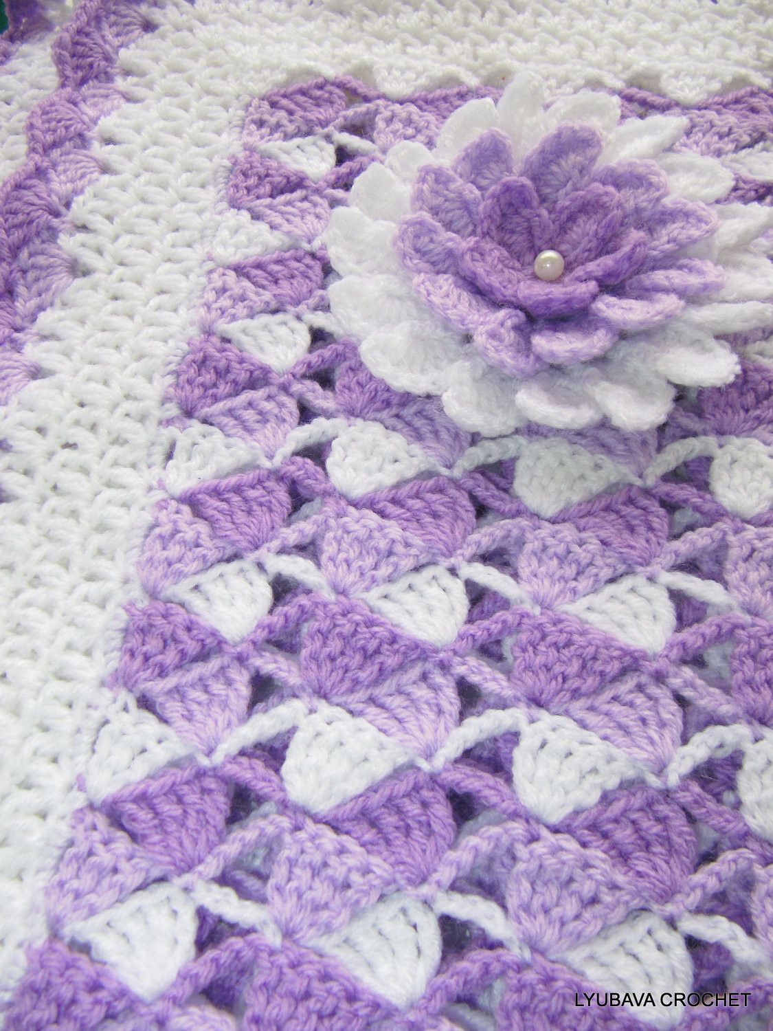 New Free Crochet Edging Patterns for Baby Blankets Crochet Baby Blanket Edging Of Wonderful 42 Images Crochet Baby Blanket Edging