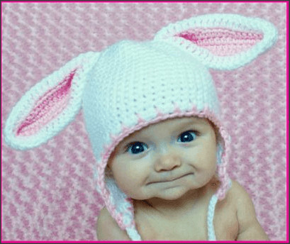 New Free Crochet Pattern Baby Bunny Hat Pakbit for Baby Bunny Hat Of Brilliant 47 Pictures Baby Bunny Hat