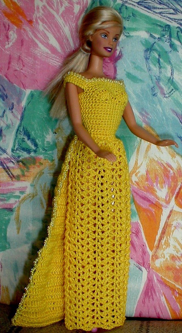 New Free Crochet Pattern for Dress with Beads Barbie Dress Patterns Of Marvelous 46 Photos Barbie Dress Patterns