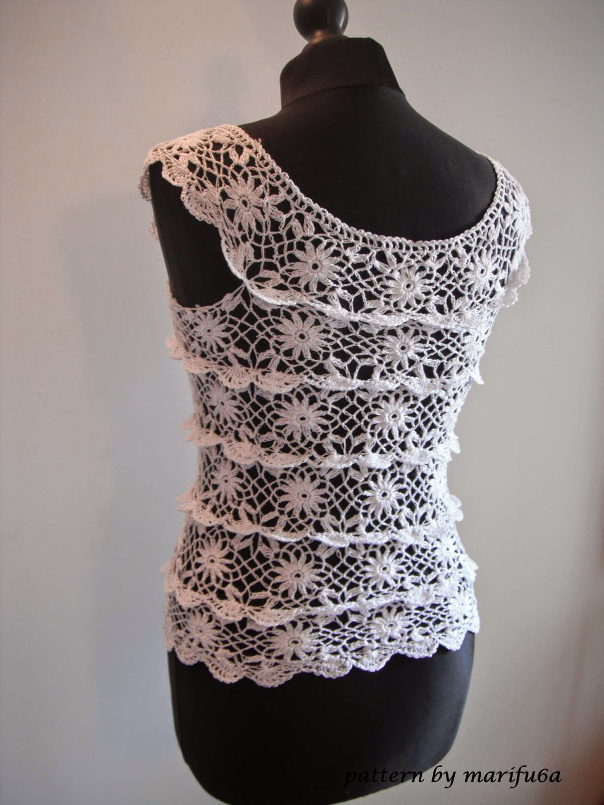 New Free Crochet Patterns and Video Tutorials How to Crochet Crochet Blouse Of Superb 46 Models Crochet Blouse