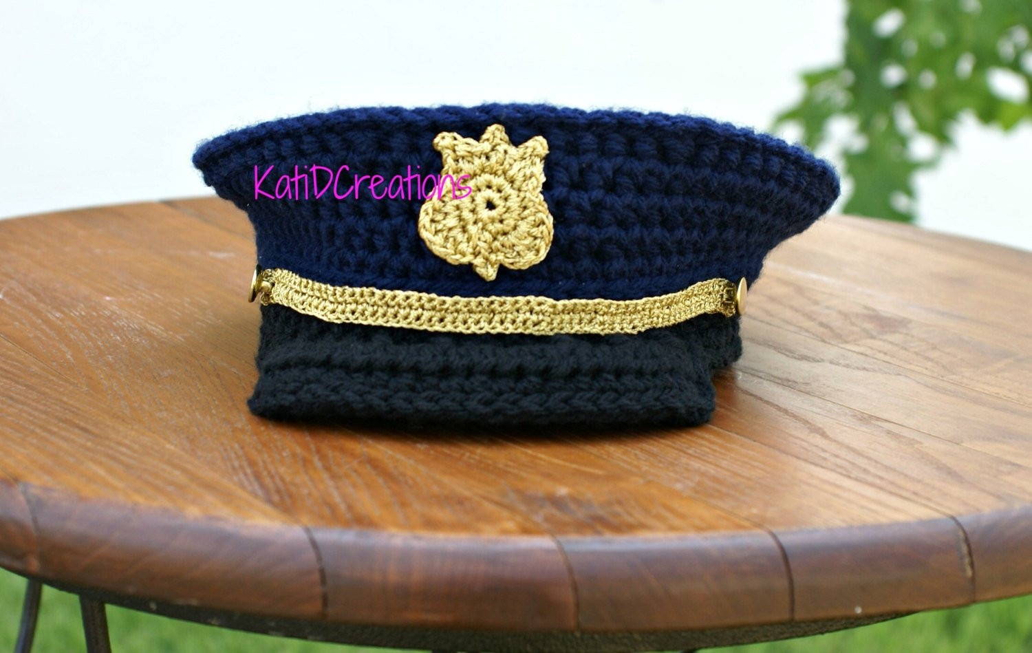 FREE Pattern 6 12months Military Hat Military Dress Hat