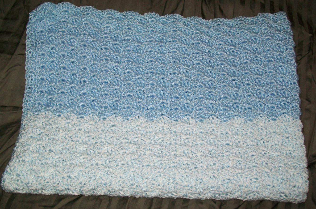 New Free Pattern for Crochet Afghan with V Stich and Shells Shell Stitch Afghan Of Unique 45 Photos Shell Stitch Afghan