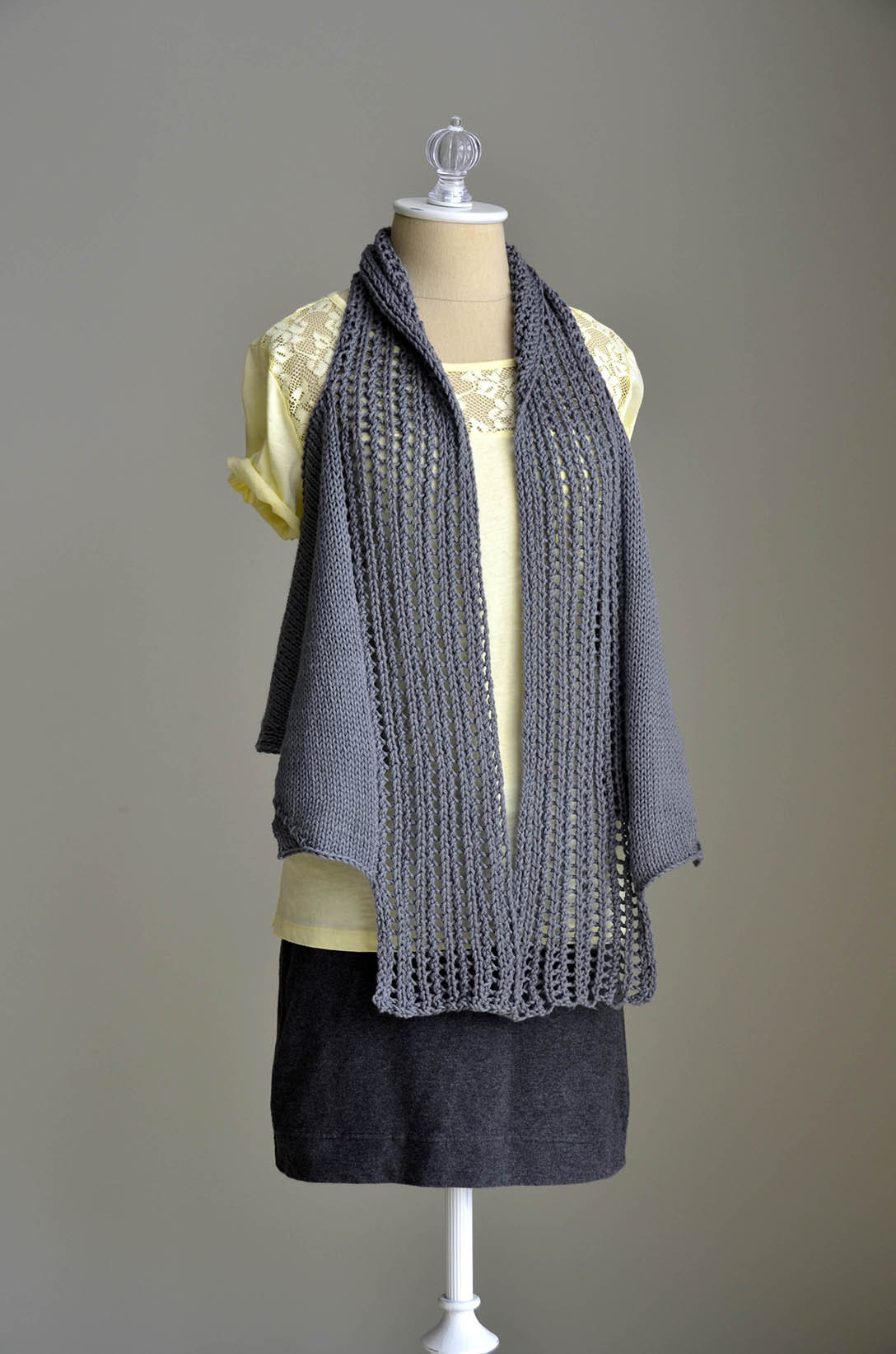 New Free Pattern Friday – Pathways Vest In Cotton Supreme Women's Knitted Vest Patterns Of Amazing 48 Ideas Women's Knitted Vest Patterns