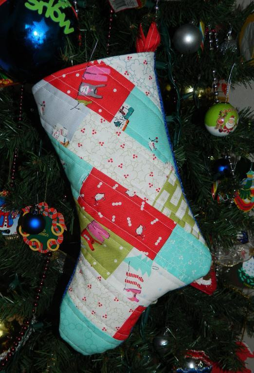 free quilt pattern charming christmas stocking