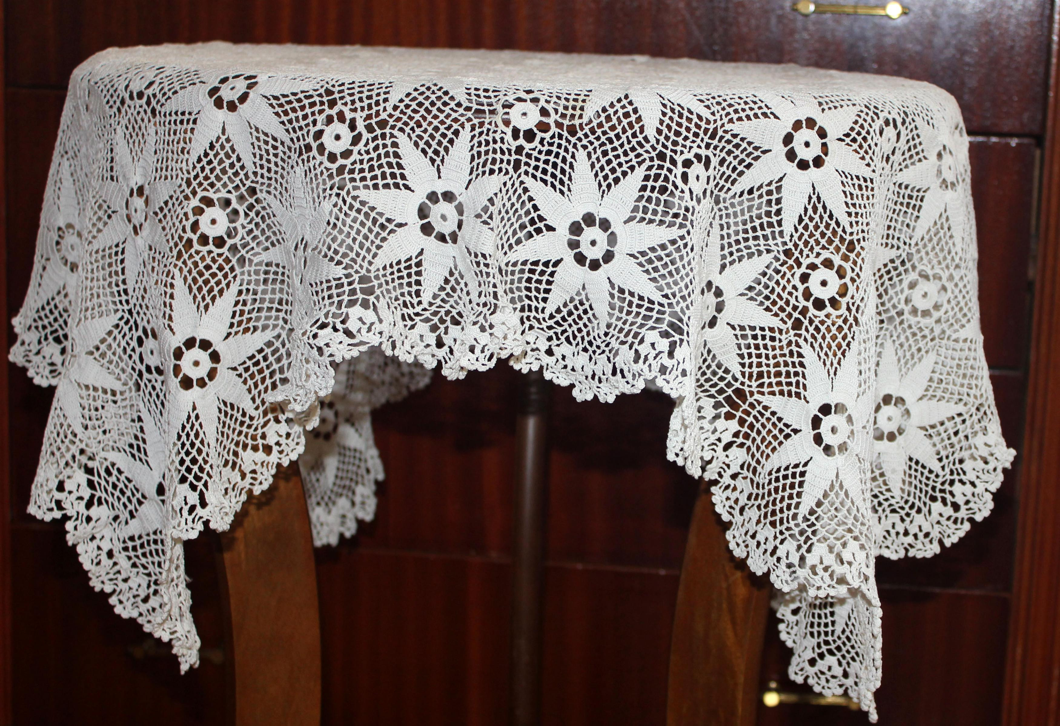 New Free Shipping Hand Crochet Vintage Tablecloth Square Crochet Tablecloth for Sale Of Delightful 42 Ideas Crochet Tablecloth for Sale