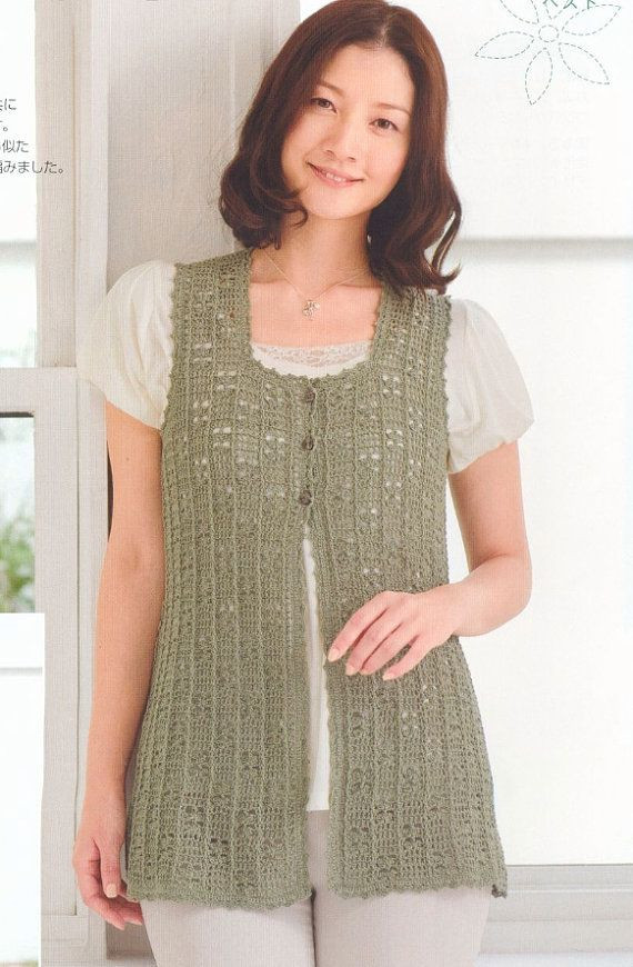 New Free Shipping Woman Crochet Vest top Pdf Pattern by Free Crochet Womens Vest Patterns Of Great 41 Pics Free Crochet Womens Vest Patterns