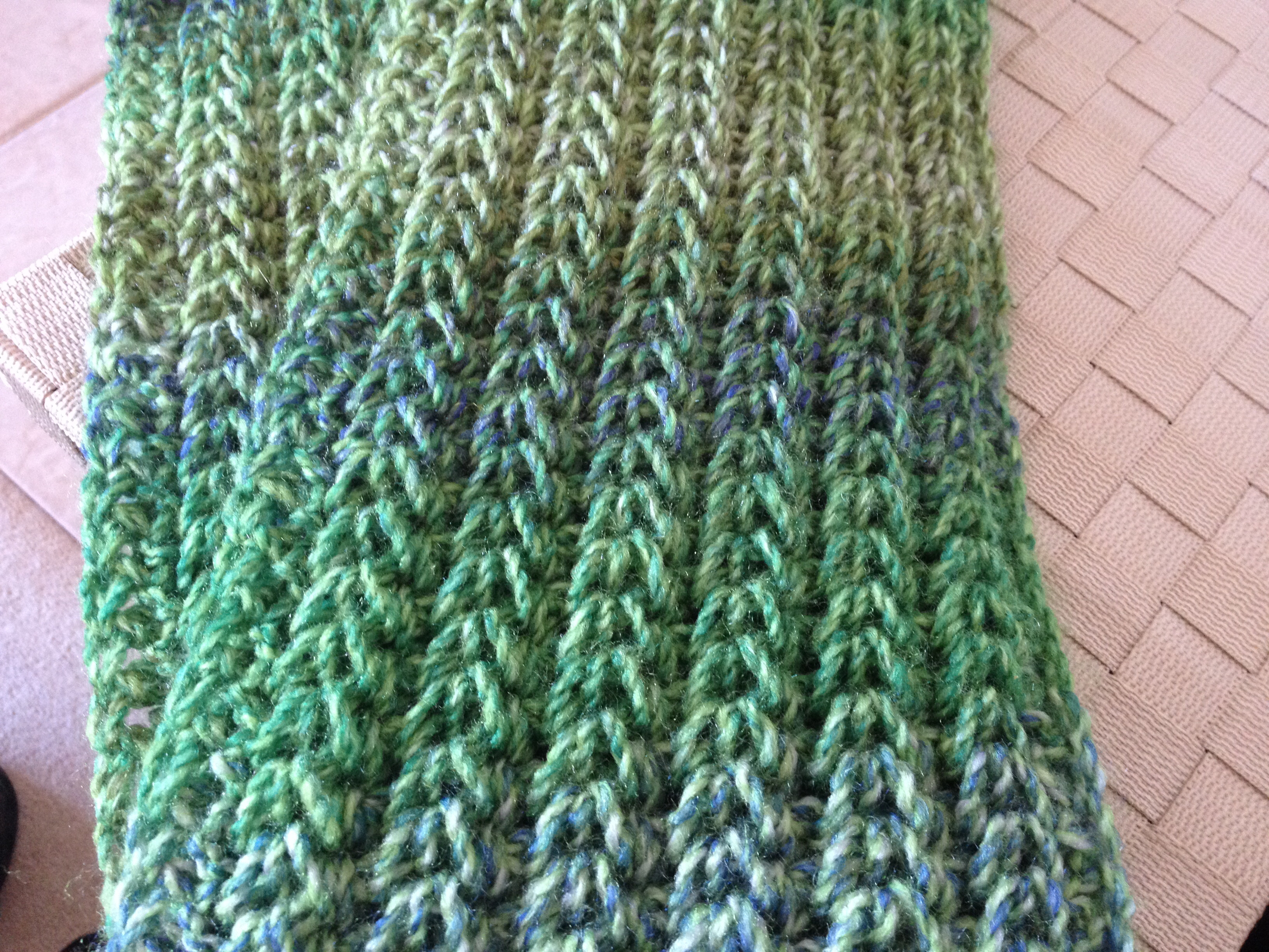 free tunisian crochet patterns for scarf