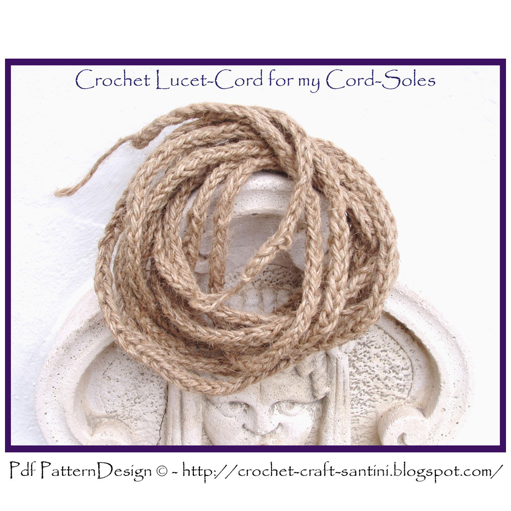 New Free Tutorial for How to Make A Lucet Cord Crochet Cords Of Attractive 49 Ideas Crochet Cords