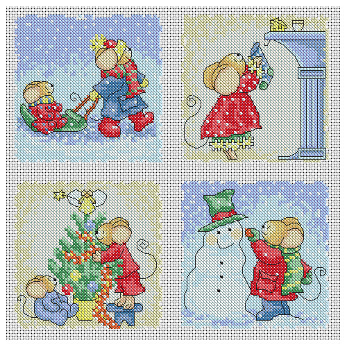 New Furry Tales Christmas Cards Cross Stitch Pattern Christmas Cross Stitch Patterns Of Charming 48 Pics Christmas Cross Stitch Patterns