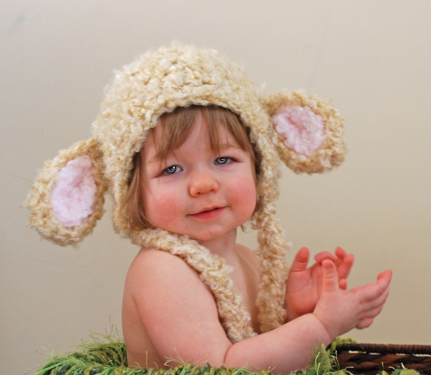 New Fuzzy Lamb Earflap Hat In Cream Easter Hat Photo Prop Lamb Hat Of Awesome 46 Images Lamb Hat