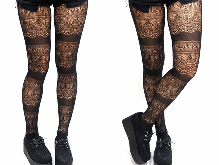 New Gothic Victoria Crochet Lace Layer Fishnet Tights Crochet Tights Of Charming 48 Ideas Crochet Tights