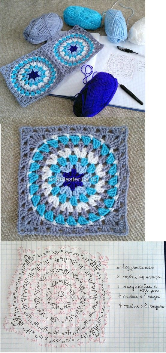 New Granny Circle Square Crochet but Called Knitting In Granny Circle Crochet Pattern Of Innovative 45 Models Granny Circle Crochet Pattern