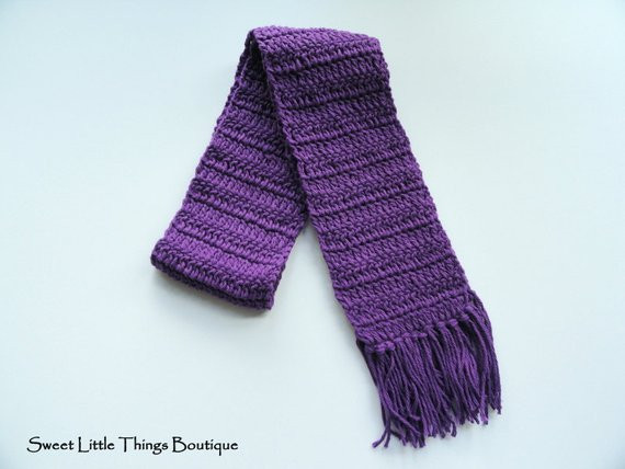 New Grape Children Crochet Scarf Baby Scarf by thesweetlittleshop Crochet Kids Scarf Of New 9 Cool Crochet Scarf Patterns Crochet Kids Scarf