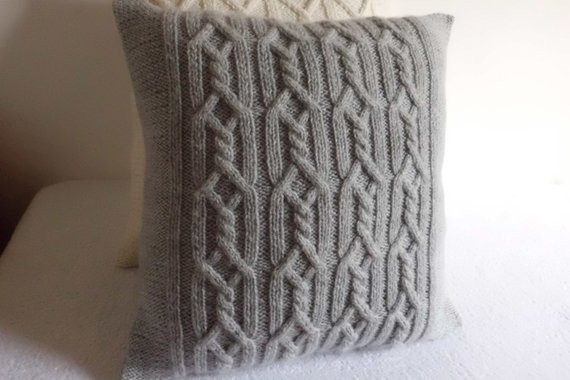 New Gray Decorative Cable Knit Pillow Cover Throw Pillow Cover Cable Knit Throw Pillow Of Great 48 Ideas Cable Knit Throw Pillow