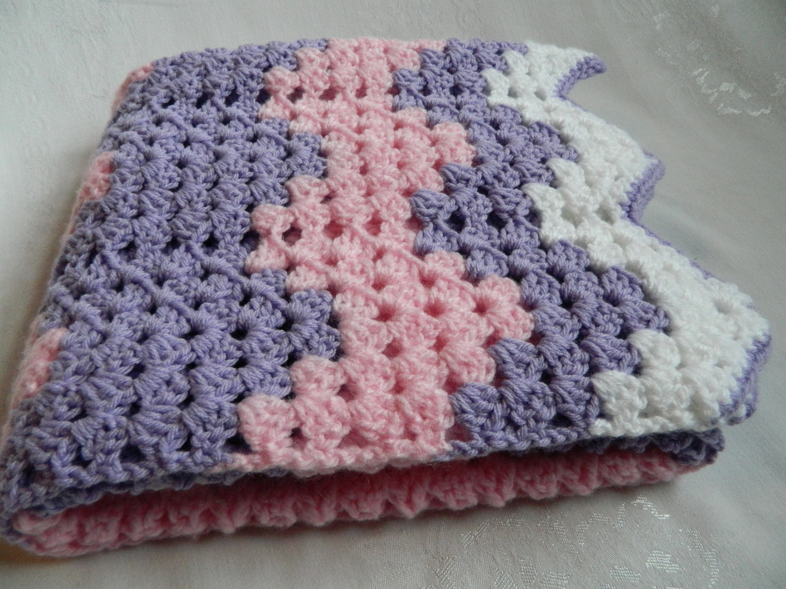 New Hand Crochet Granny Wave Pastel Afghan Blanket Bernat Bernat softee Baby Crochet Baby Blanket Of Awesome 48 Ideas Bernat softee Baby Crochet Baby Blanket