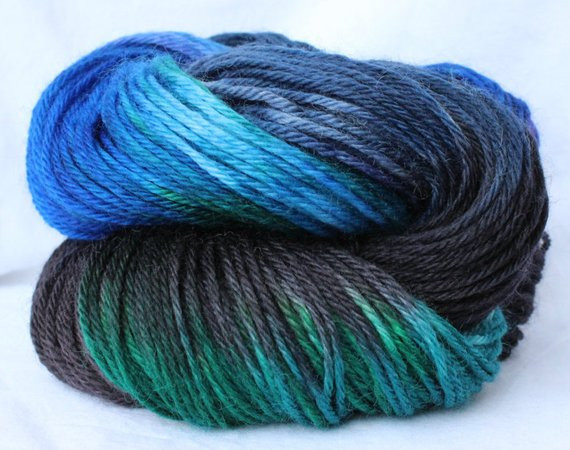 New Hand Dyed Yarn Black Green Blue Variegated Yarn Green Variegated Yarn Of Beautiful 50 Pics Green Variegated Yarn