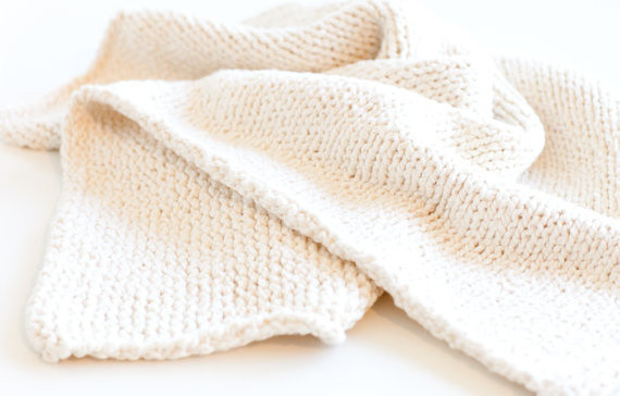 New Hand Knit 100 Percent organic Cotton Baby Blanket by Karen Cotton Knit Baby Blanket Of Awesome 41 Models Cotton Knit Baby Blanket