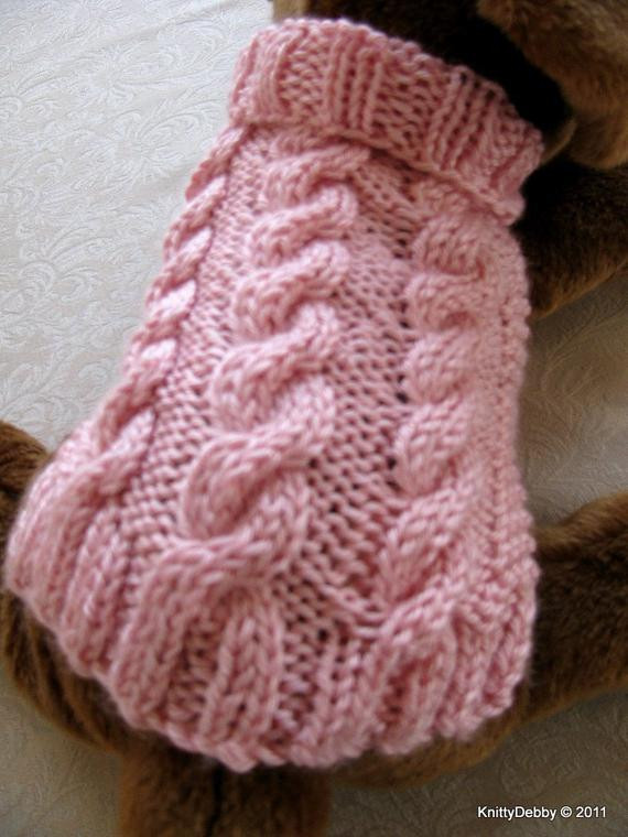 New Hand Knit Dog Sweater Aran Cable Design Free Shipping Easy Knitting Patterns for Dog Sweaters for Beginners Of Luxury 41 Pictures Knitting Patterns for Dog Sweaters for Beginners
