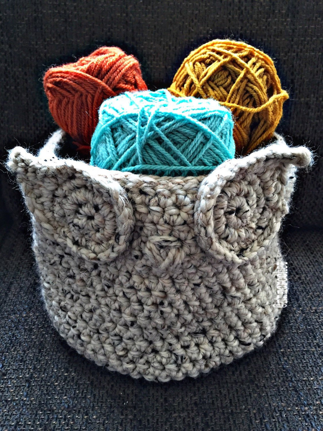 New Handcrafted Crochet Owl Basket Crochet Owl Basket Of Brilliant 47 Photos Crochet Owl Basket