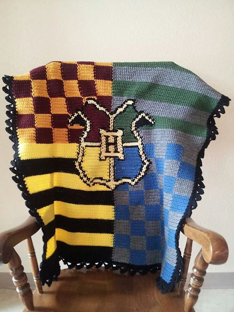 New Harry Potter Hogwarts House Crochet Blanket Harry Potter Crochet Blanket Of Luxury 42 Models Harry Potter Crochet Blanket