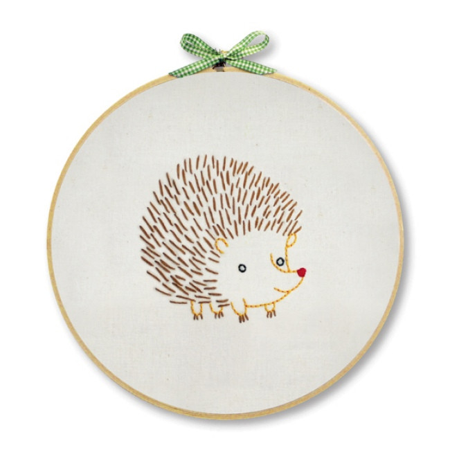 New Hedgehog Embroidery Kit for Beginners Hand Embroidery at Hand Embroidery Kits Beginners Of Gorgeous 45 Photos Hand Embroidery Kits Beginners
