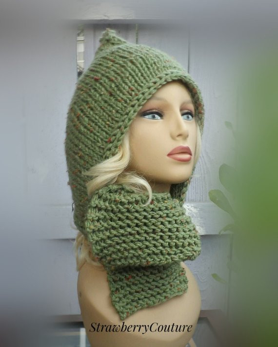 New Hooded Knitted Scarf Pattern Knitting Pattern Knit Scarf Hooded Scarf Knitting Pattern Of Delightful 48 Pictures Hooded Scarf Knitting Pattern