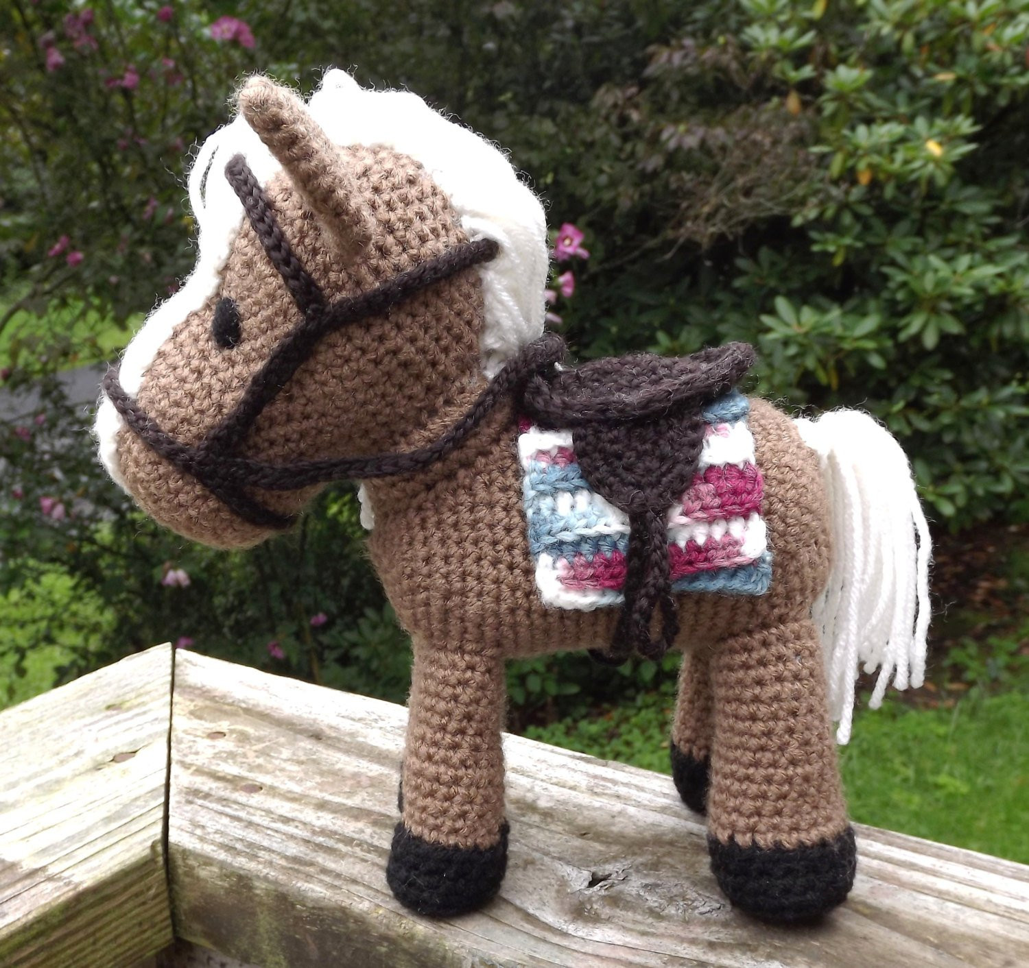 New Horse Amigurumi Pattern with Removable Saddle Saddle Blanket Free Crochet Horse Pattern Of Charming 47 Ideas Free Crochet Horse Pattern