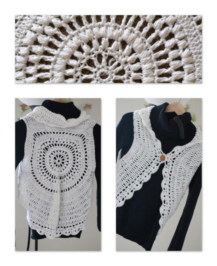 New How to Crochet A Circle Vest Tutorial Patterns Crochet Circle Vest Of Superb 50 Pics Crochet Circle Vest
