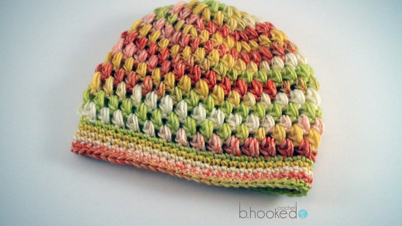 New How to Crochet A Puff Stitch Hat Viyoutube Puff Crochet Of Great 49 Ideas Puff Crochet