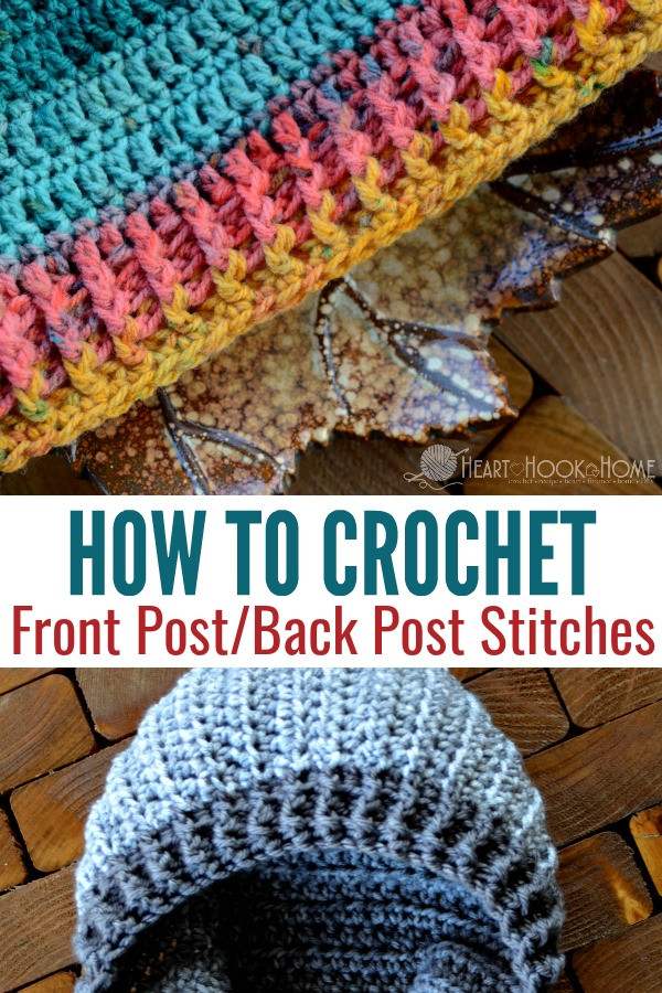 New How to Crochet Front Post and Back Post Crochet Stitches Crochet Post Stitch Of Incredible 45 Images Crochet Post Stitch